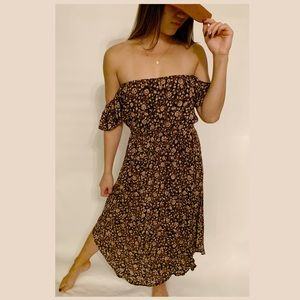 Amuse Society Off the Shoulder Dress